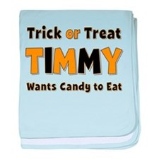 Timmy Trick or Treat baby blanket