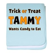 Tammy Trick or Treat baby blanket