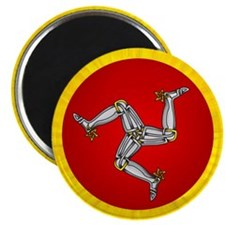 "Isle of Man 2.25"" Magnet (100 pack)"