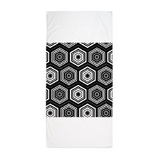Hexagon Law Beach Towel