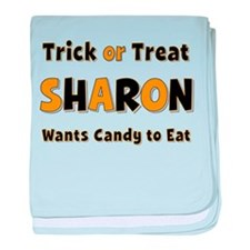 Sharon Trick or Treat baby blanket