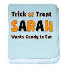 Sarah Trick or Treat baby blanket