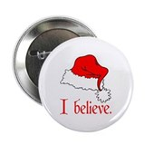 "I Believe in Santa 2.25"" Button (100 pack)"