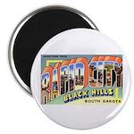 Rapid City South Dakota Greetings Magnet
