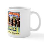 Rapid City South Dakota Greetings Mug