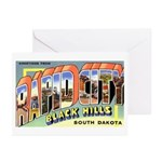 Rapid City South Dakota Greetings Greeting Cards (