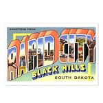 Rapid City South Dakota Greetings Postcards (Packa