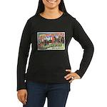 Rapid City South Dakota (Front) Women's Long Sleev