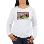 Rapid City South Dakota Greetings Women's Long Sle