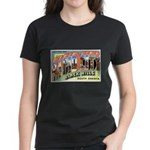 Rapid City South Dakota (Front) Women's Dark T-Shi