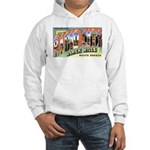 Rapid City South Dakota (Front) Hooded Sweatshirt