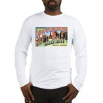 Rapid City South Dakota (Front) Long Sleeve T-Shir