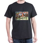 Rapid City South Dakota (Front) Dark T-Shirt