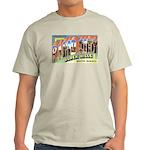 Rapid City South Dakota Greetings Ash Grey T-Shirt