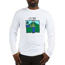Kayaker - Long Sleeve T-Shirt