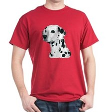 Dalmatian Dog Dark Colored T-Shirt