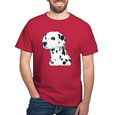 Dalmatian Dog Dark Colored T-Shirt