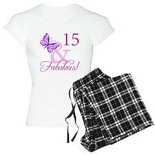 Fabulous 15th Birthday For Girls Pajamas