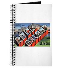 Rock Island Illinois Greetings Journal