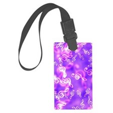 Musical key note Luggage Tag