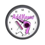 Beauty school Wall Clocks