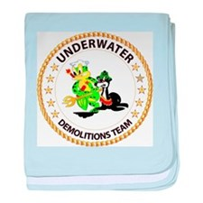 SOF - Underwater Demolitions Team baby blanket