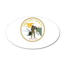 Navy - SOF - Seal Team VI in Pakistan 35x21 Oval W