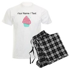 Custom Pink Cupcake With Star pajamas