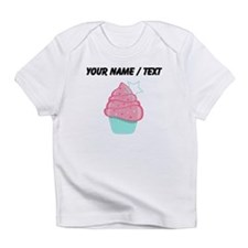 Custom Pink Cupcake With Star Infant T-Shirt