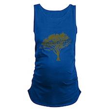 Tree (green) Maternity Tank Top