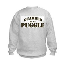 Puggle: Guarded by Sweatshirt