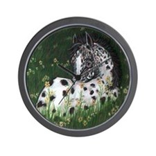 Spots of Springtime Wall Clock