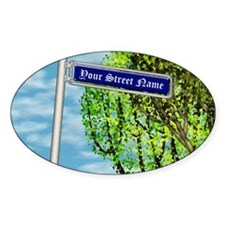 personalizable vintage street Decal