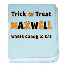 Maxwell Trick or Treat baby blanket