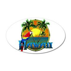 Hawaiian Sunset Wall Decal