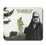 Music of JD Warrick Mousepad (white)