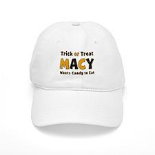 Macy Trick or Treat Baseball Baseball Cap
