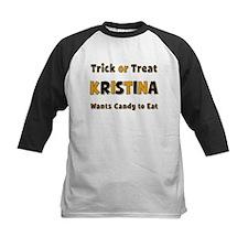 Kristina Trick or Treat Baseball Jersey