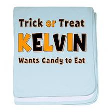 Kelvin Trick or Treat baby blanket
