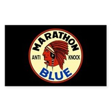 Marathon Blue Decal
