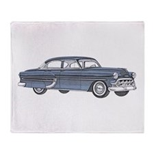 1953 car Throw Blanket