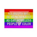 All Bigots Rectangle Fridge Magnet