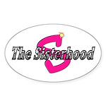 Sisterhood Oval Sticker