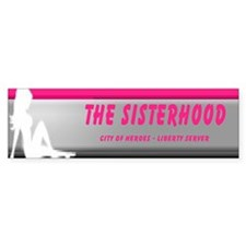 Sisterhood Bumper Bumper Sticker