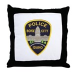 Boise City Police Throw Pillow