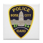 Boise City Police Tile Coaster