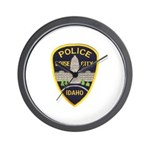 Boise City Police Wall Clock
