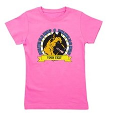 Personalized K9 Unit Belgian Malinois Girl's Tee