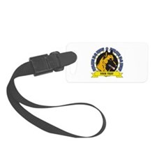 Personalized K9 Unit Belgian Malinois Luggage Tag