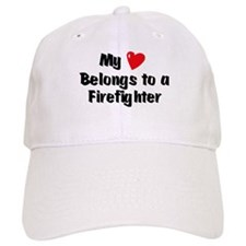 My Heart: Firefighter Baseball Cap